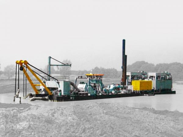 Dredger suction excavator M2