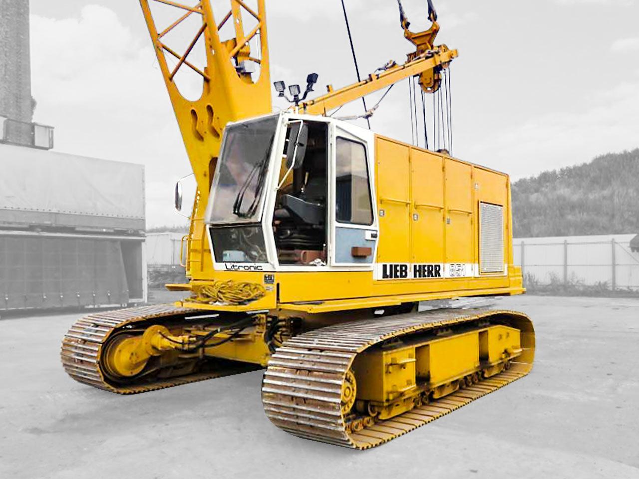 Crowler crane Liebherr HS851HD