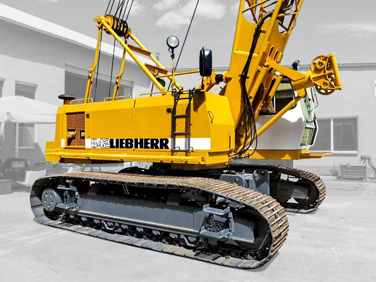 Crawler craner  Liebherr HS842HD