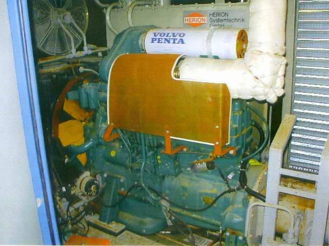 Engine - Piling Rig Menck MRB 600