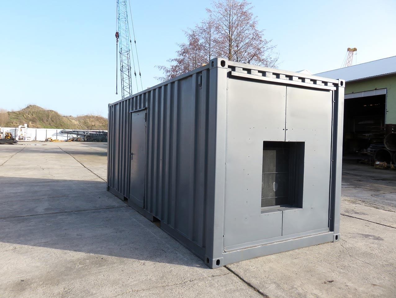 VEM generator rear view