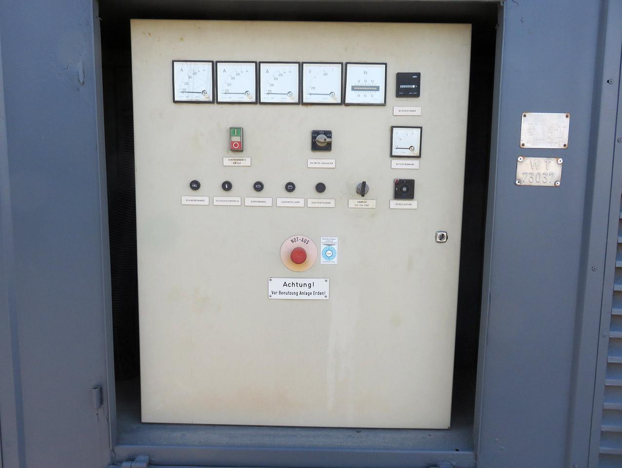 VEM generator display