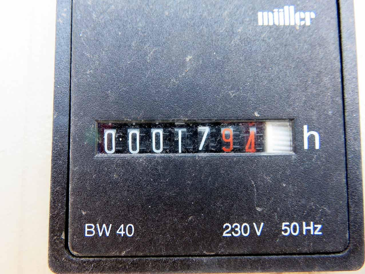 VEM generator Operating hours