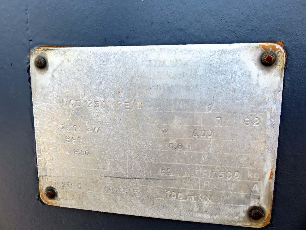 VEM generator shield