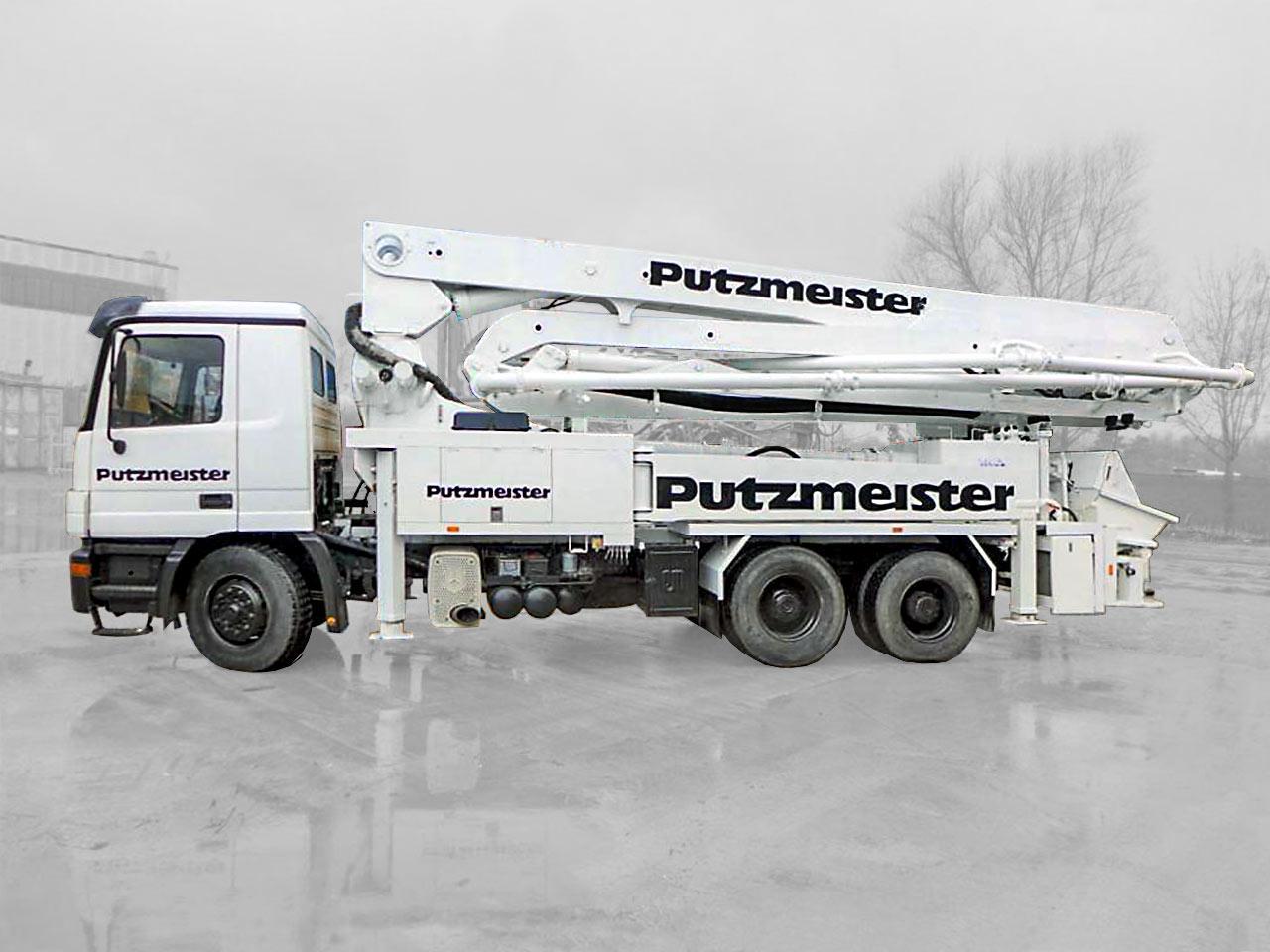 Concrete Pump PUTZMEISTER DB