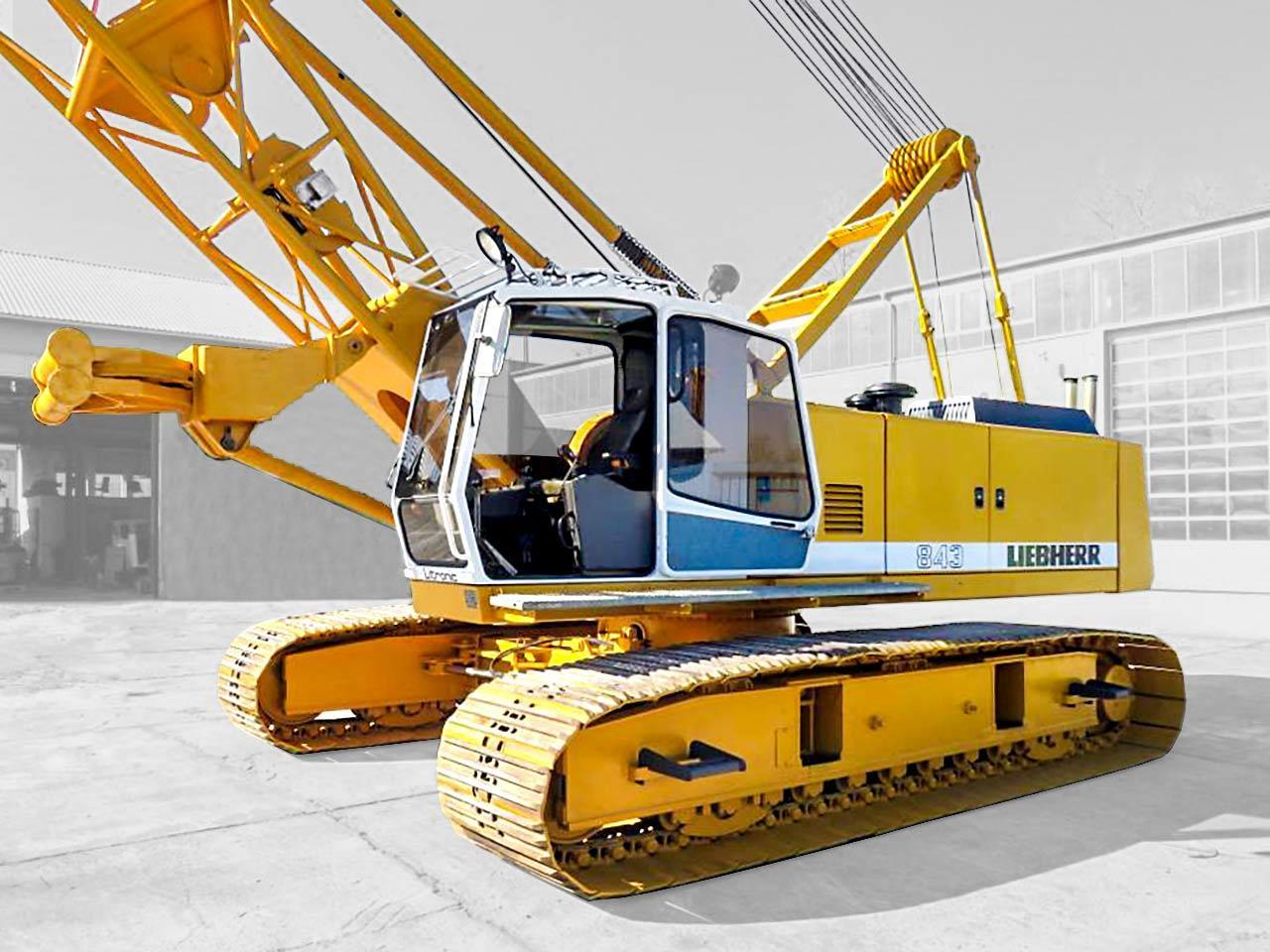 Crawler crane Liebherr HS 843 HD