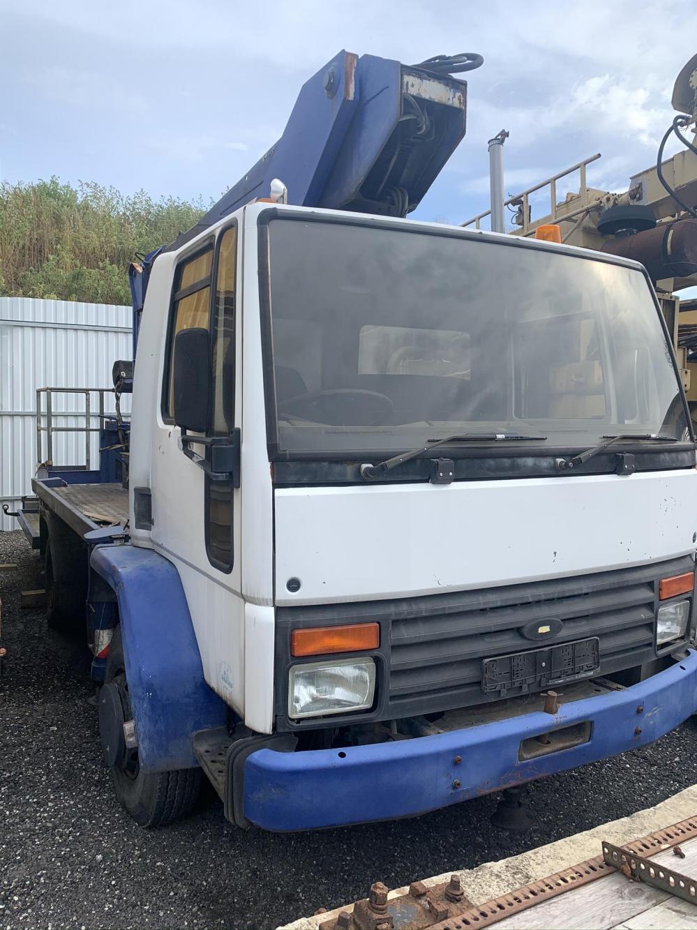 Working platform Ford Euro Cargo 22T/J