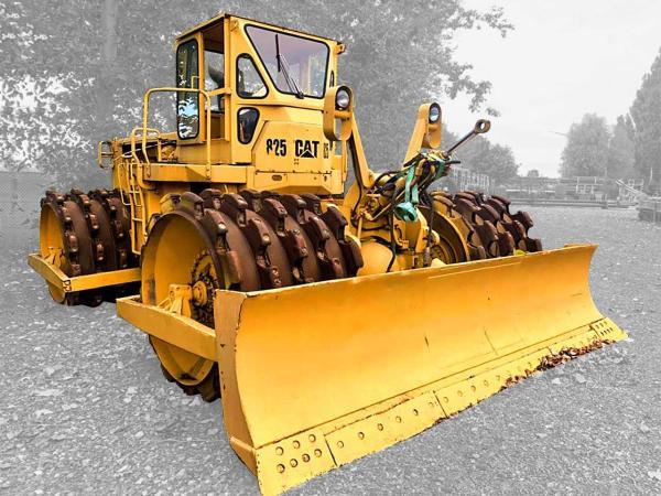 Wheeldozer Caterpillar 825 B