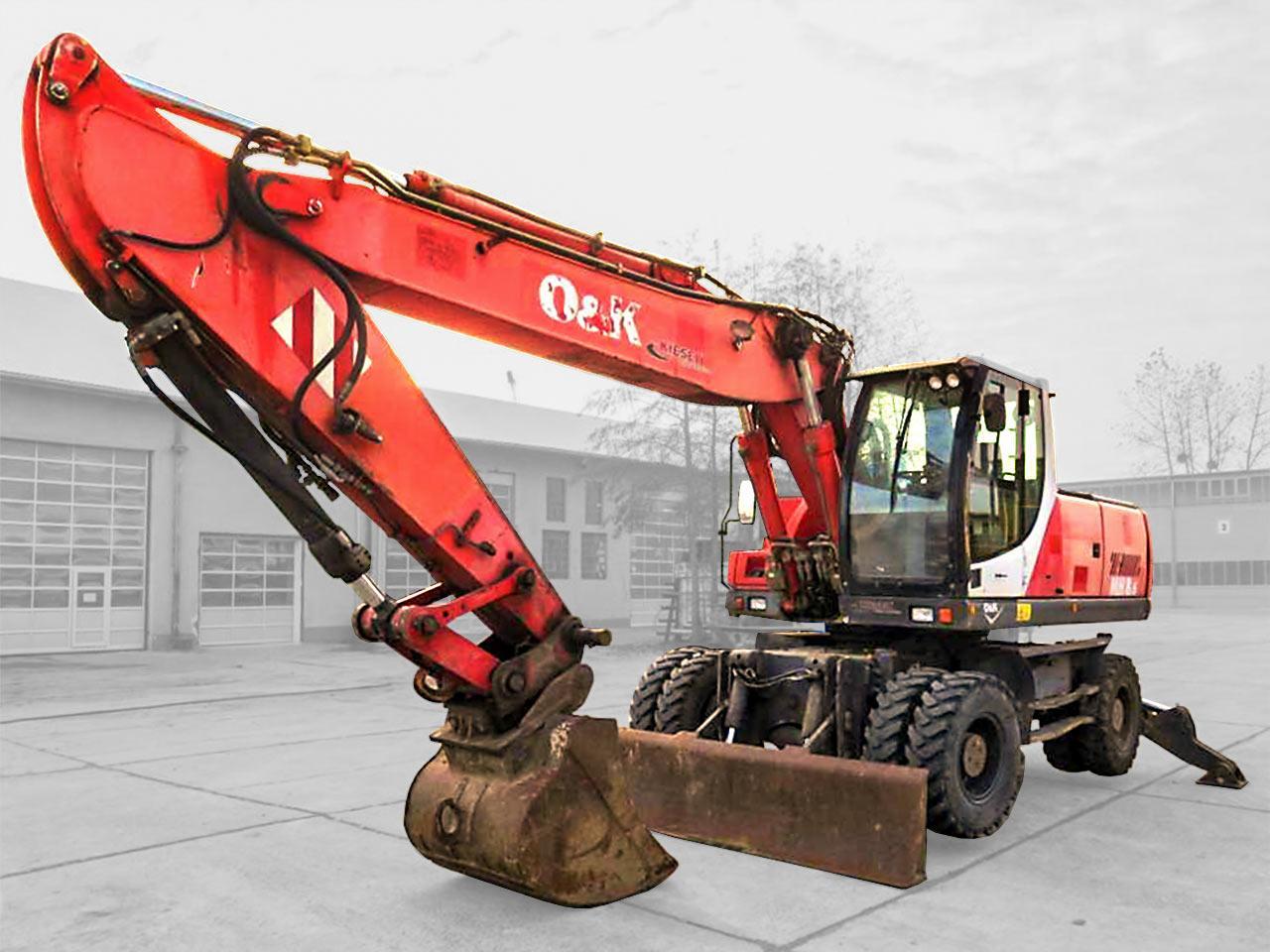 Excavator Mobile  O & K