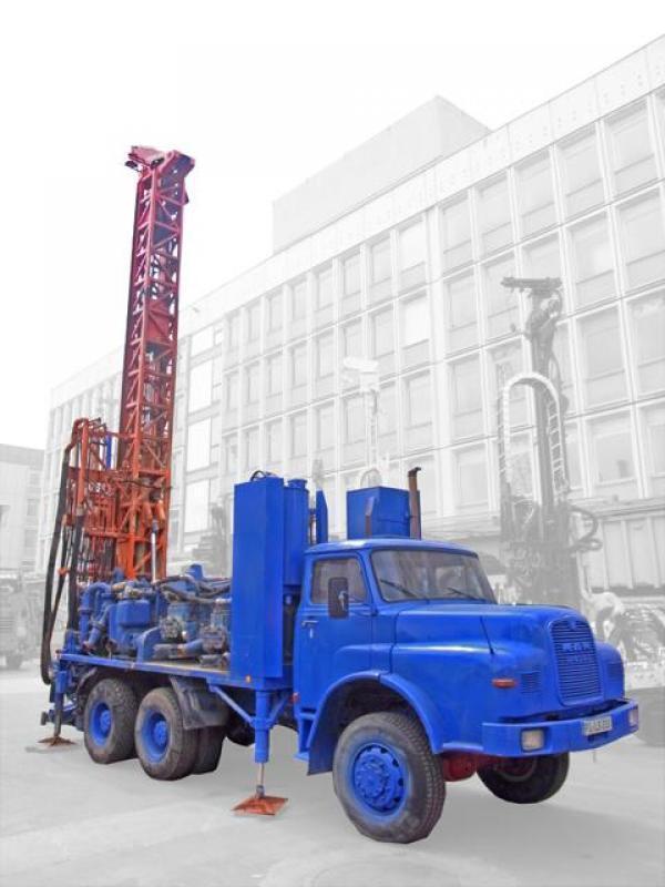 Water drilling rig Lange & Söhne