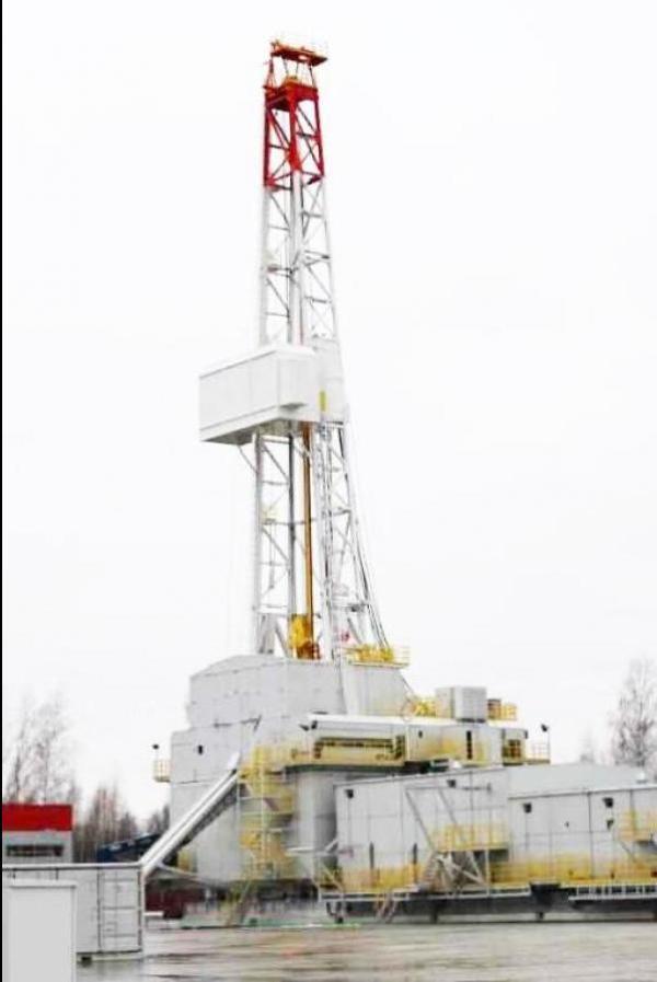 Oil drilling rig BU 5000/320 5000 m