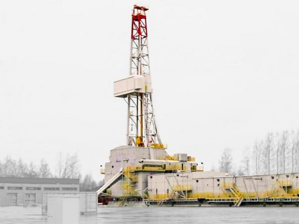 Oil drilling rig  5000 m