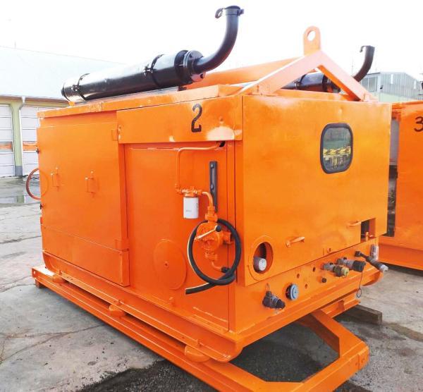 Hydraulic power unit (3x)