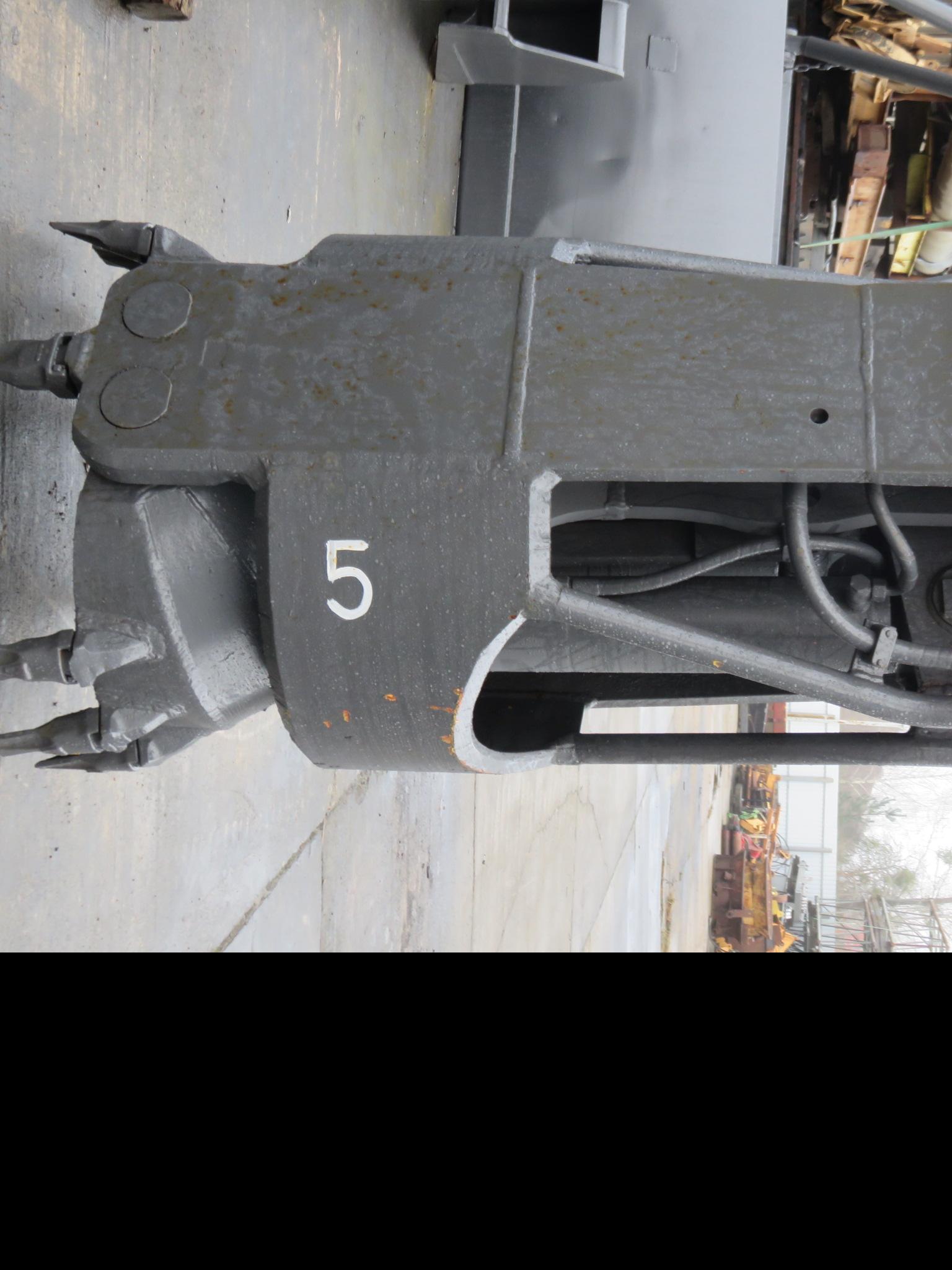 Drill gripper 5 vertical