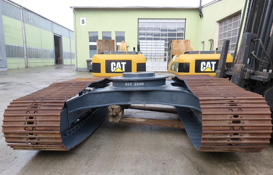 chain drive CAT 322C