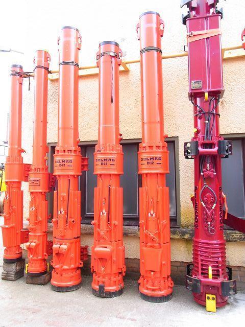 DELMAG D12 diesel hammers