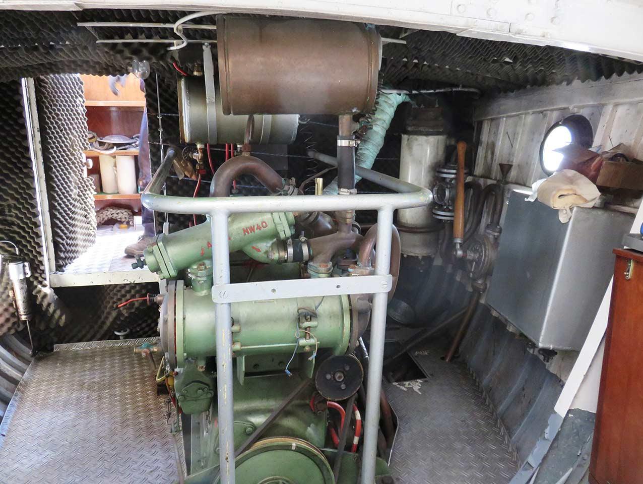 Motor launch Fassmer shipyard Motor