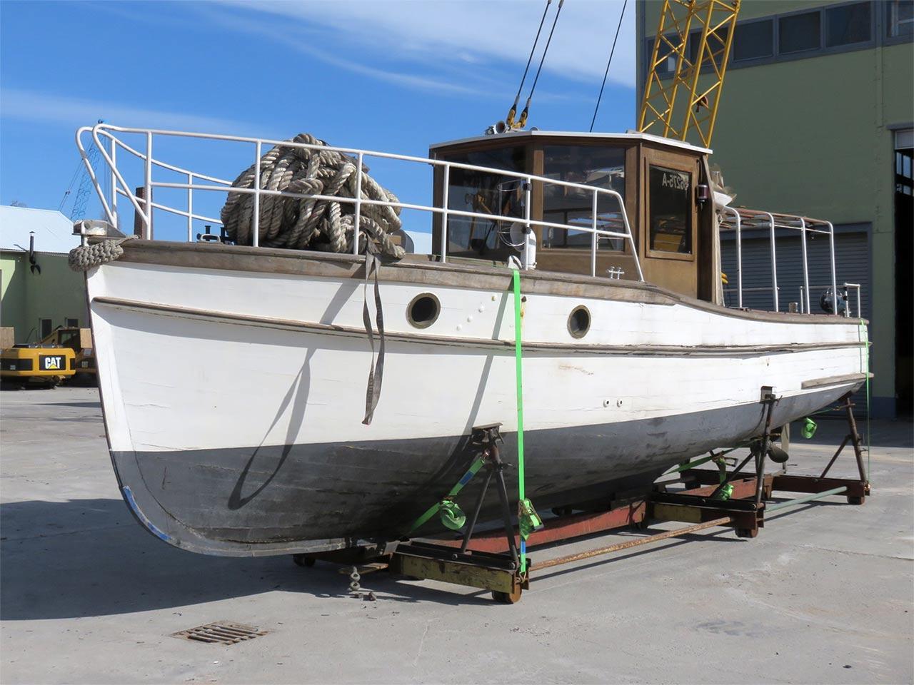 Pinasse - Fassmer Shipyard