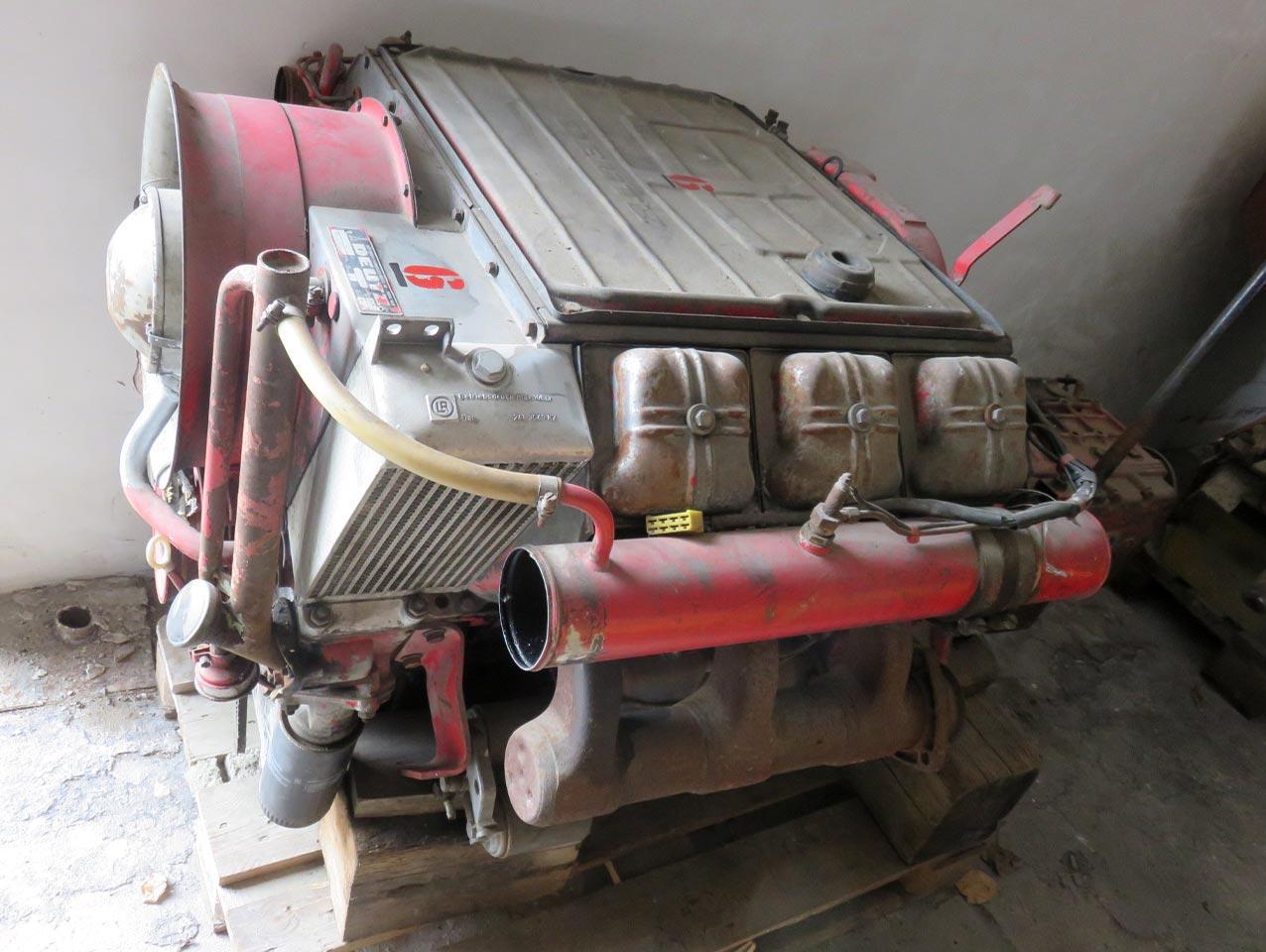 Diesel engine Deutz A6L514