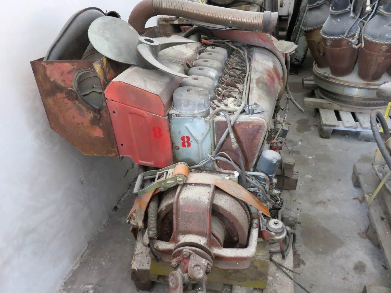 Diesel engine Deutz F6L913