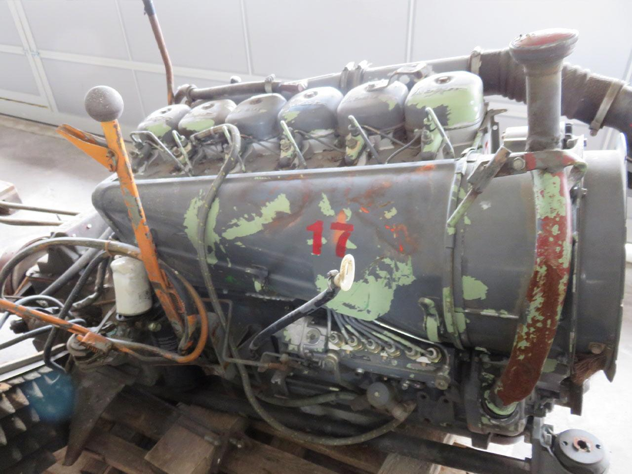 Diesel engine Deutz F6L912