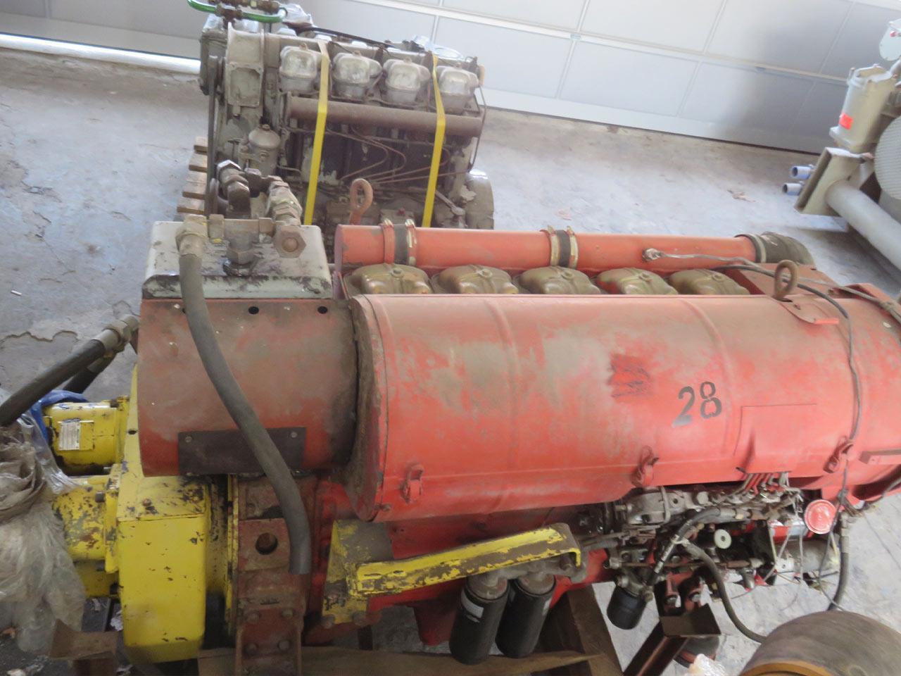 Diesel engine Deutz P5L413FR