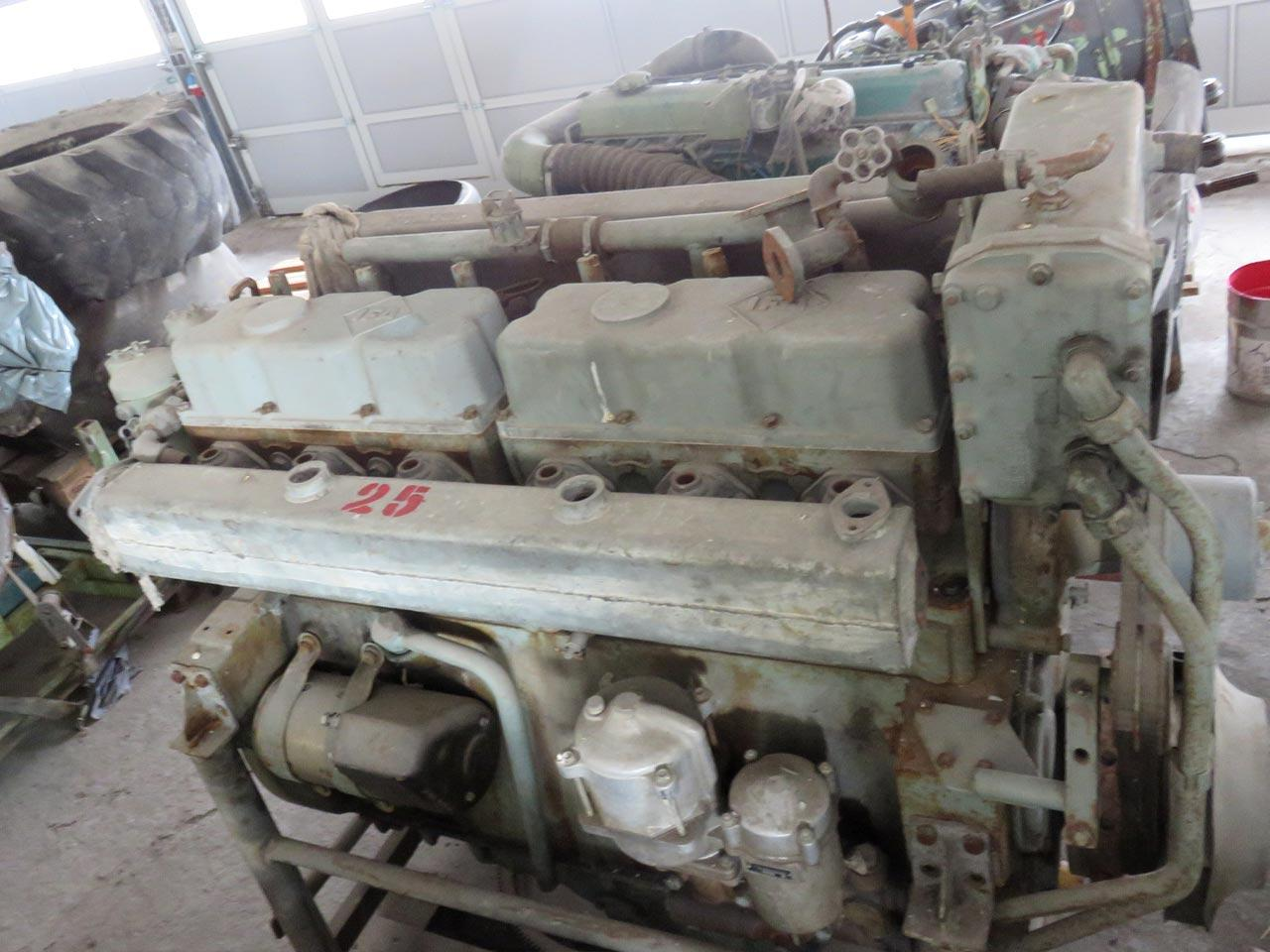 Diesel engine IFA Motorenwerke