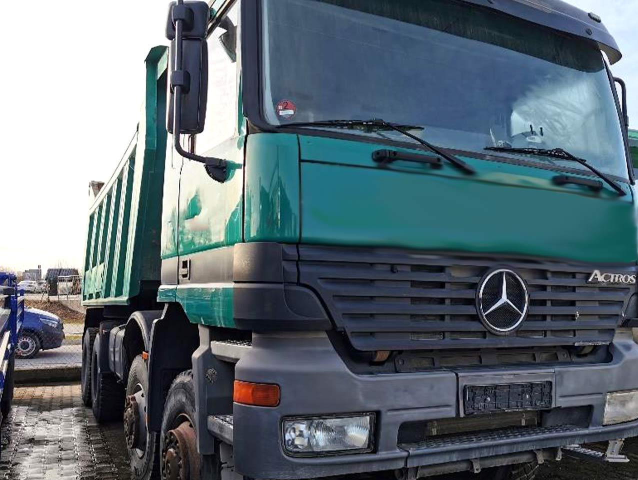 MB Actros 480 8x8 with Meiller Tipper